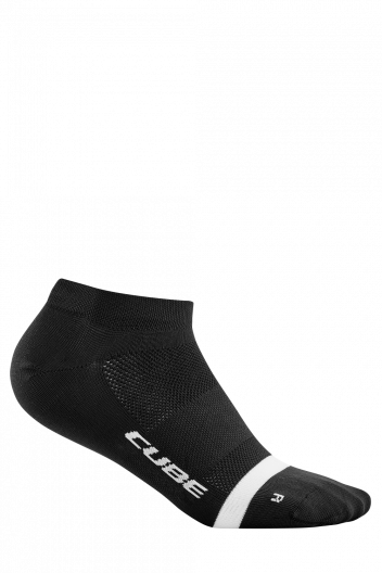 CUBE Socks Low Cut Blackline